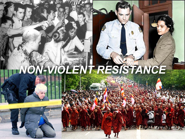 """The empire """"breaks bad""""—Christian faith in the Trump era ...Non Violent Resistance Meaning"""